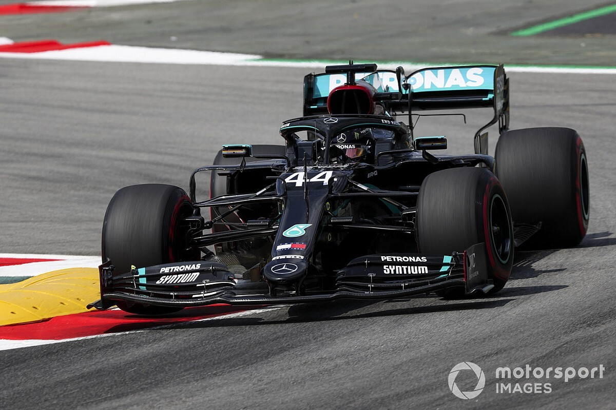 Spanish GP: Hamilton quickest from Bottas in FP2