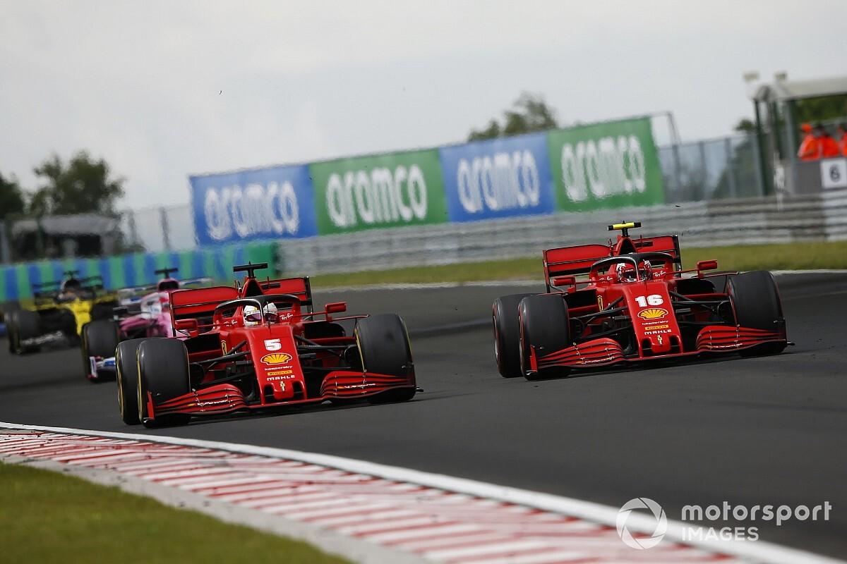 Vettel ugyan legyőzte Leclerc-t a Magyar Nagydíjon, sejtette, hogy kört kaphatnak