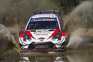 Toyota выставит на старт Ралли Финляндия пять экипажей