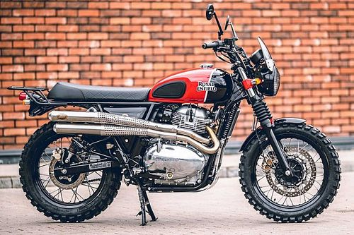 Finally, A Royal Enfield Interceptor 650 Scrambler We Can Get Our Hands On