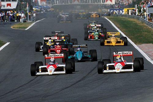 Galería: el caos en la salida de las carreras de Fórmula 1