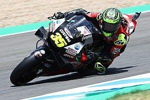 Crutchlow ruled out of Jerez MotoGP after warm-up crash