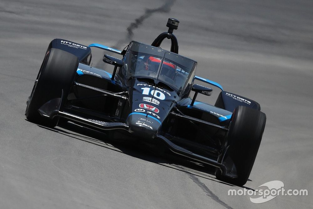 Rosenqvist accepts blame for late-race shunt in Texas