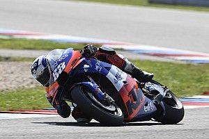 Impressionnant à Brno, Oliveira regrette une chute en essais libres