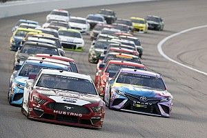 What time and channel is the NASCAR Cup race at Kansas today?