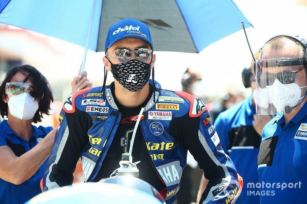 Loris Baz en discussions avec l'équipe officielle Yamaha pour 2021