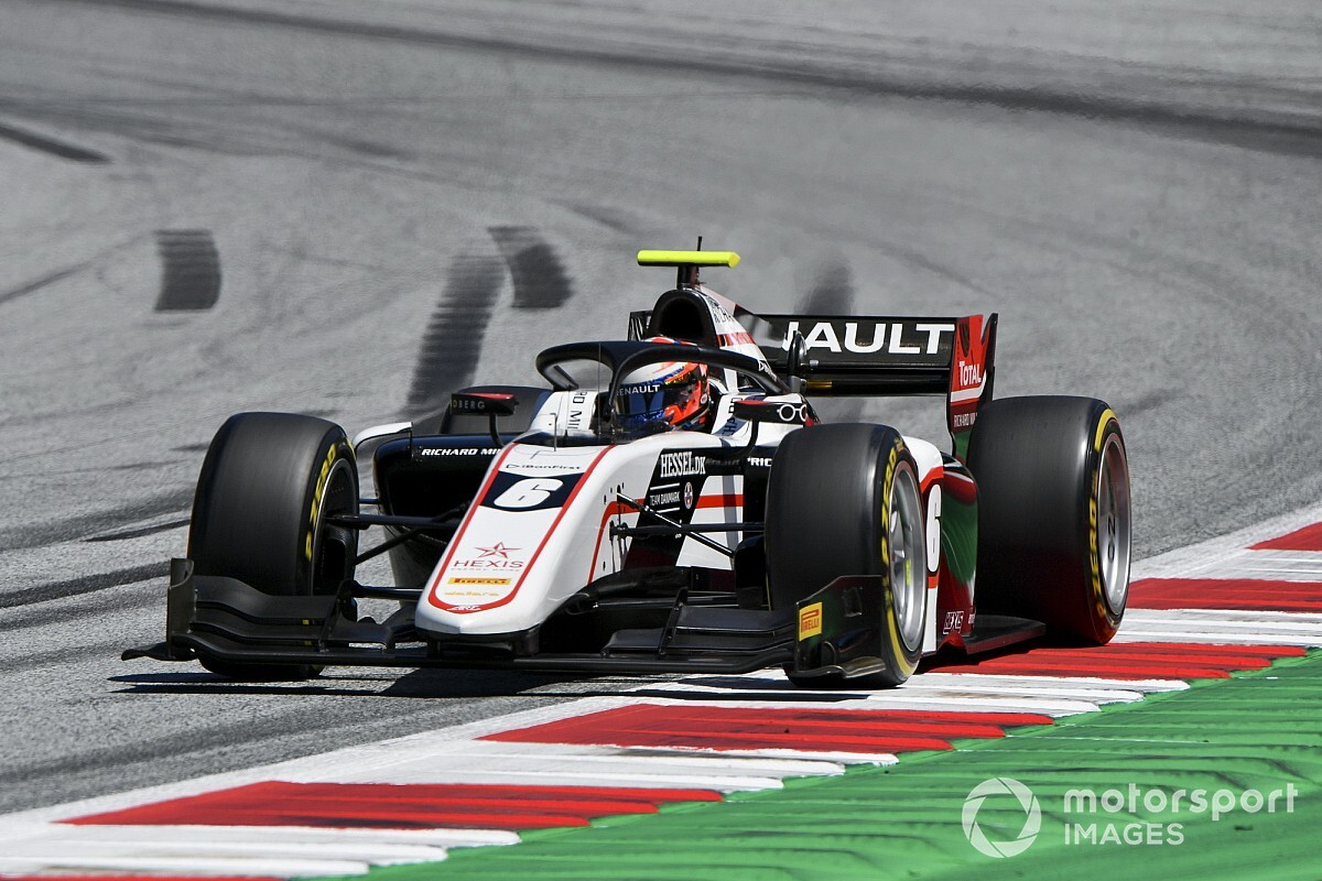 F2, Stiria, Sprint Race: dominio di Christian Lundgaard