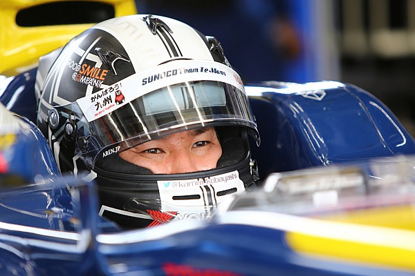 Kobayashi, Super Formula'da yarışmaya devam edecek