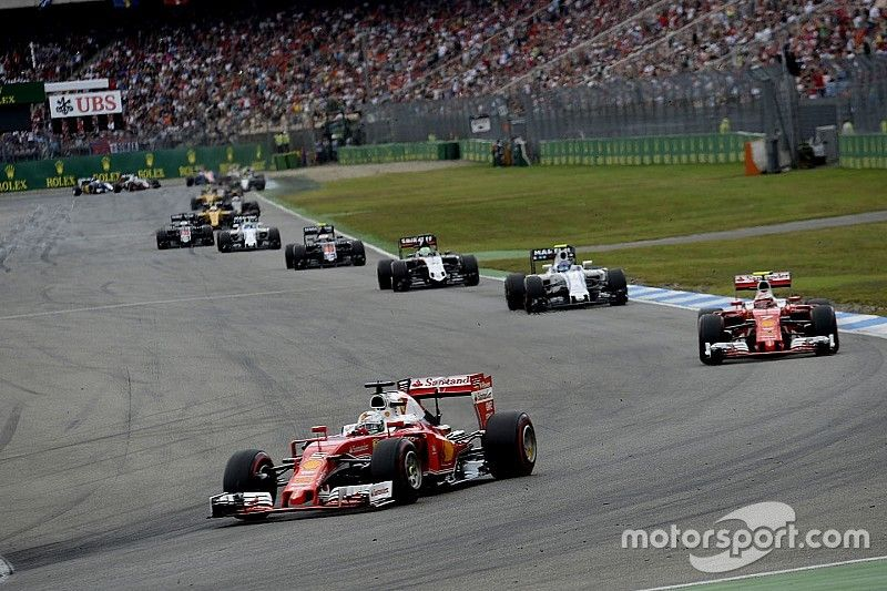 "Hockenheim F1 terms ""cannot continue"""