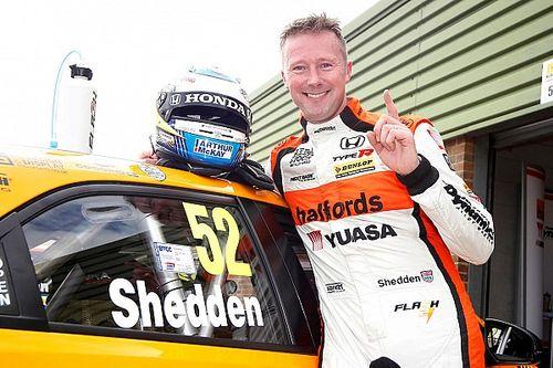 Snetterton BTCC: Shedden takes last lap win in restarted race