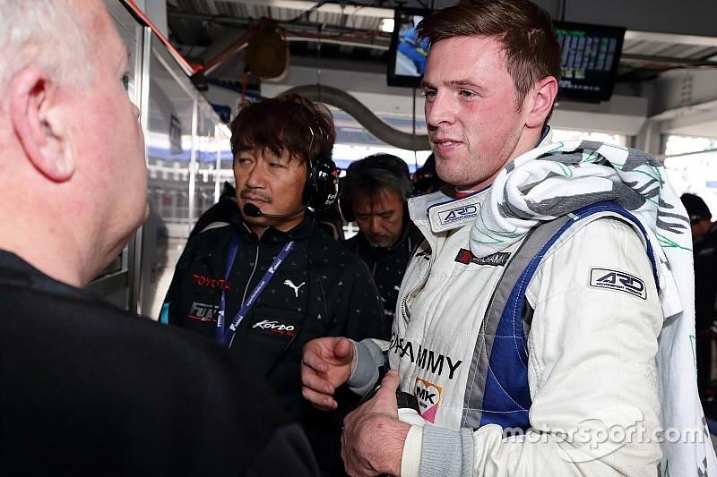 ウィリアム・ブラー、フォーミュラV8 3.5に出場