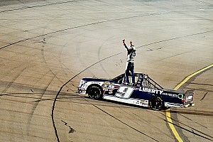 NASCAR Truck Race report Rookie William Byron wins again with late-race pass