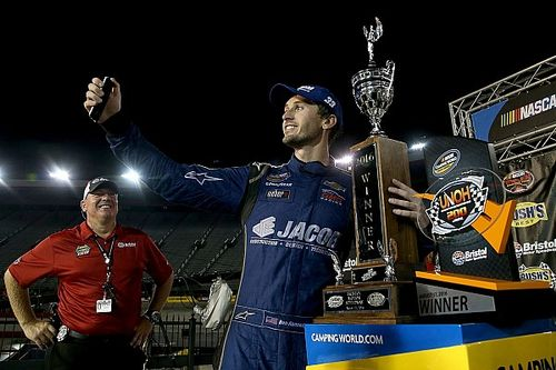 """Ben Kennedy: First NASCAR win was """"coolest day of my life"""""""