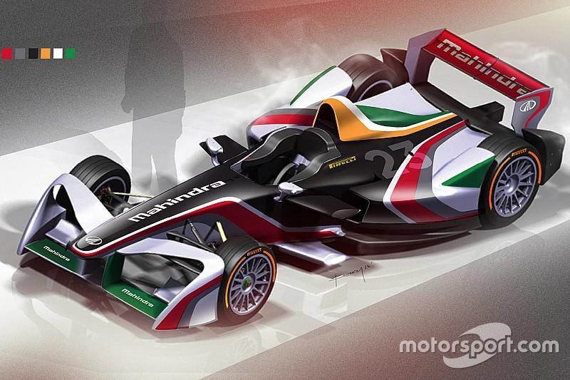 Gallery: 14 finalists of Mahindra Formula E livery contest
