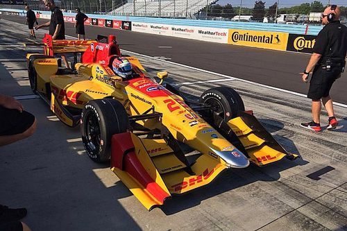 Andretti's Lights racers happy with first IndyCar test
