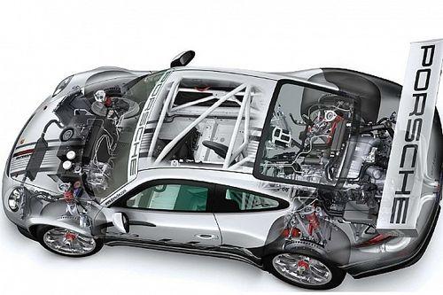 La 911 GT3 Cup ai raggi X