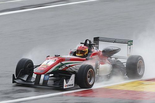 فورمولا 3: سترول يهيمن على السباق الأول الماطر في سبا