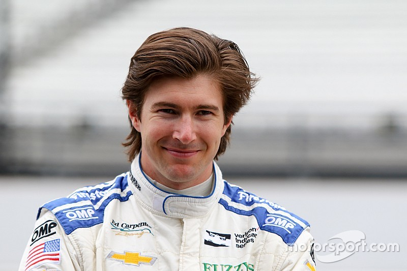 "Hildebrand ""positive"" about landing Ed Carpenter Racing deal"