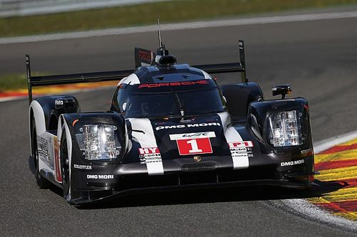 Both Porsche 919 Hybrids on front row in Spa