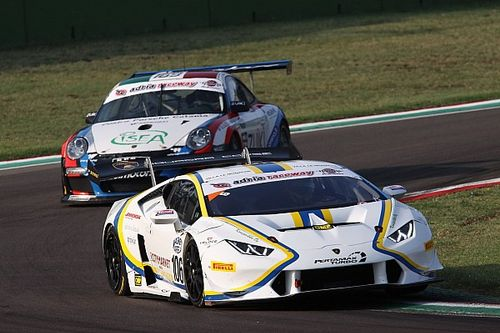 Super GT Cup - GT Cup: Vainio e Tujula dominano Gara 1 ad Imola