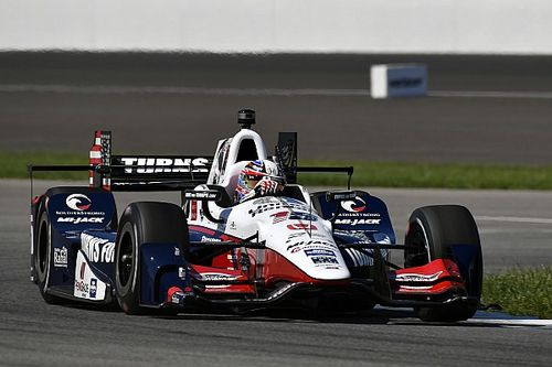 "Rahal pleased with ""attack mode"" drive to sixth"