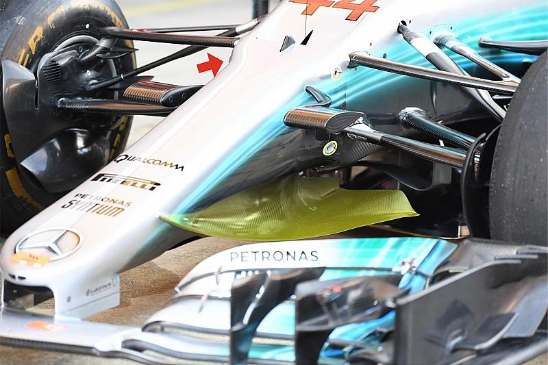 Formel-1-Technik: Was hinter dem Spanien-Update von Mercedes steckt