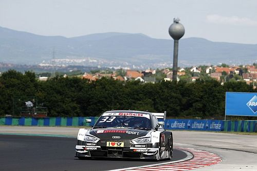 Hungaroring DTM: Rast takes points lead with maiden win