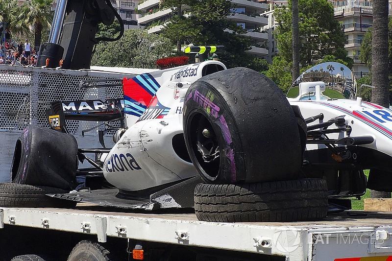 【F1】クラッシュしたストロール「ゲームと同じ場所で苦戦している」