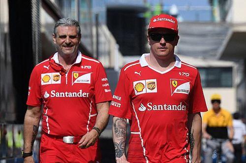 """Arrivabene: """"Kimi ha difeso Vettel da vero Campione quale è"""""""