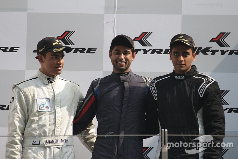 Buddh Euro JK: Reddy beats championship rivals to Race 1 win