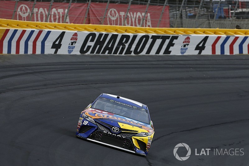 Kyle Busch suggests alterations be made to Charlotte Roval