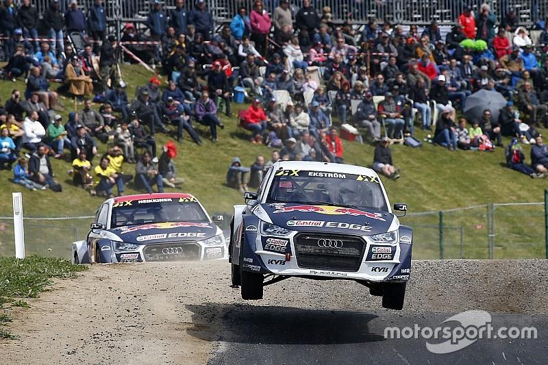 Audi-Piloten: WRX-Lauf in Belgien eine Mutprobe