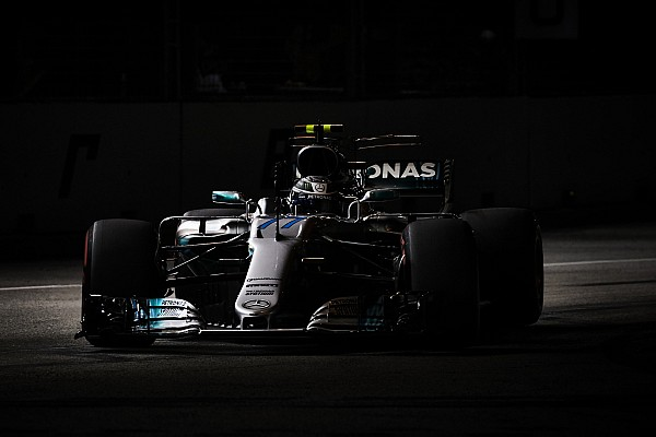 Valteri Bottas descarta que Mercedes suba al podio en Singapur