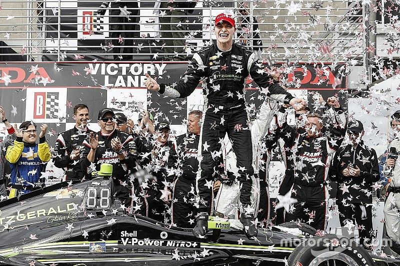 """Newgarden says """"everything"""" was key to winning Barber"""