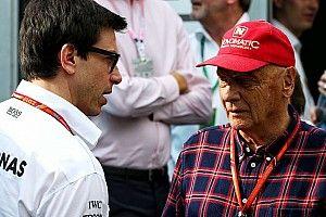 Lauda akui bertaruh untuk pole Vettel