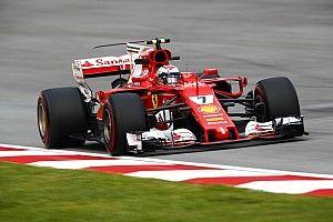 Formel 1 2017 in Sepang: Schrecksekunde bei Ferrari-Bestzeit