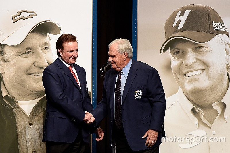 NASCAR inducts five new Hall of Fame members in emotional ceremony