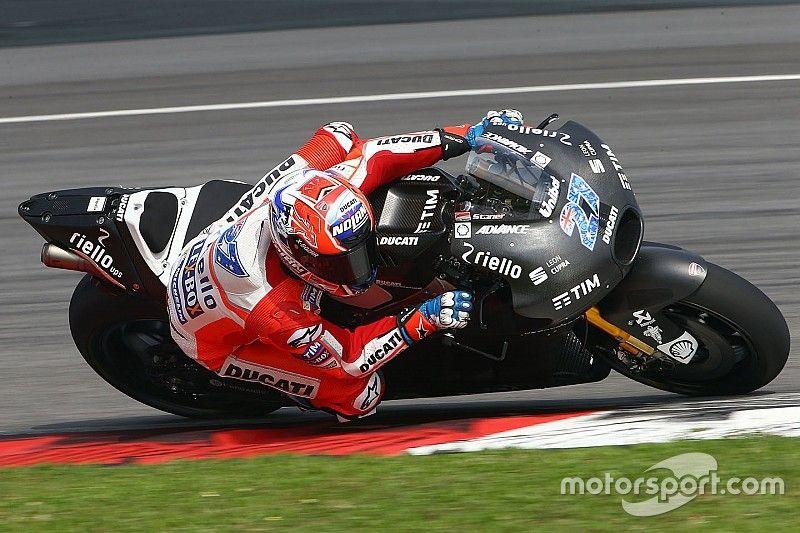 Stoner's Ducati testing pace leaves Pirro in awe