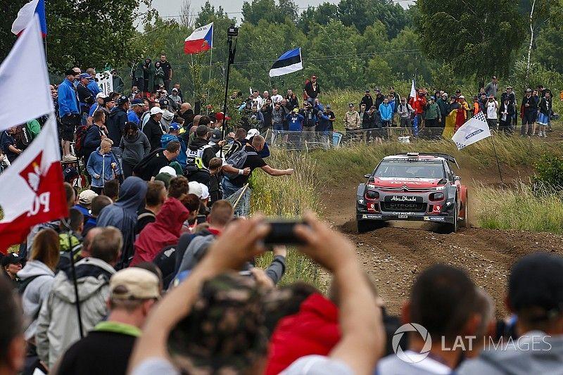 El incidente con el camión de bomberos, la gota que colma el vaso del Rally de Polonia