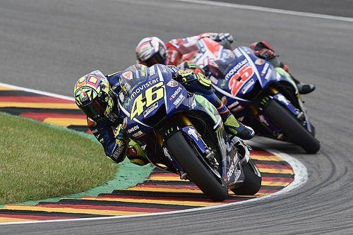 Rossi neemt genoegen met vijfde plek na zwaar weekend