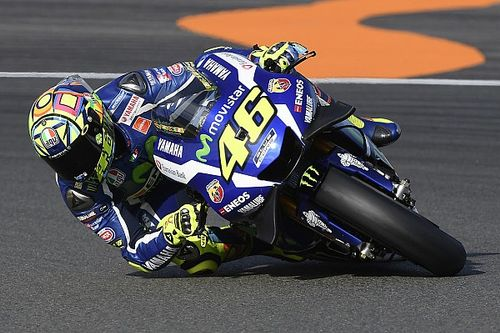 """Rossi """"not fast enough"""" to beat Iannone to podium finish"""