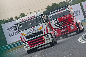 卡车疯狂战,中国卡车公开赛决战天马