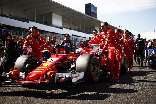 """Vettel qualifie sa réprimande de Suzuka de """"blague"""""""