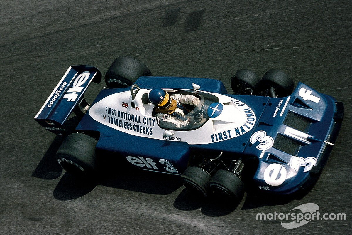 GALERÍA: los autos Tyrrell F1 desde 1968