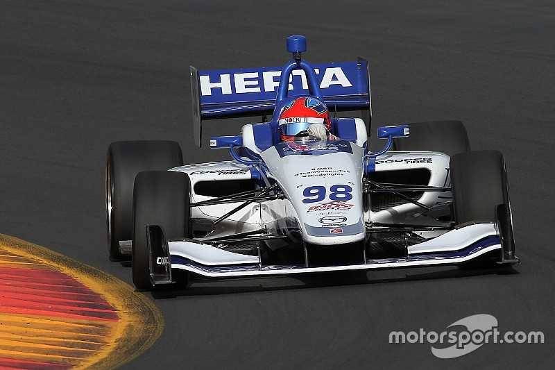 Watkins Glen Indy Lights: Herta takes seventh pole of the year