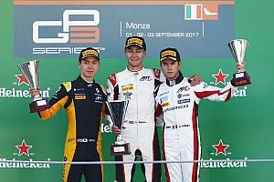 GP3 Reporte de la carrera Nueva victoria de Russell en la única carrera de la GP3 en Monza