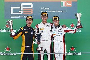 Nueva victoria de Russell en la única carrera de la GP3 en Monza