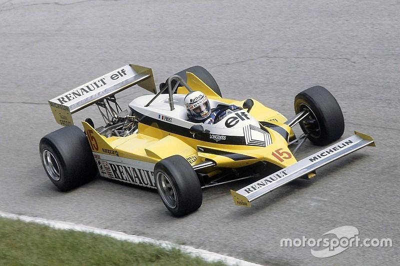 Fotogallery: ecco tutte le Renault che hanno corso in F1 dal 1977