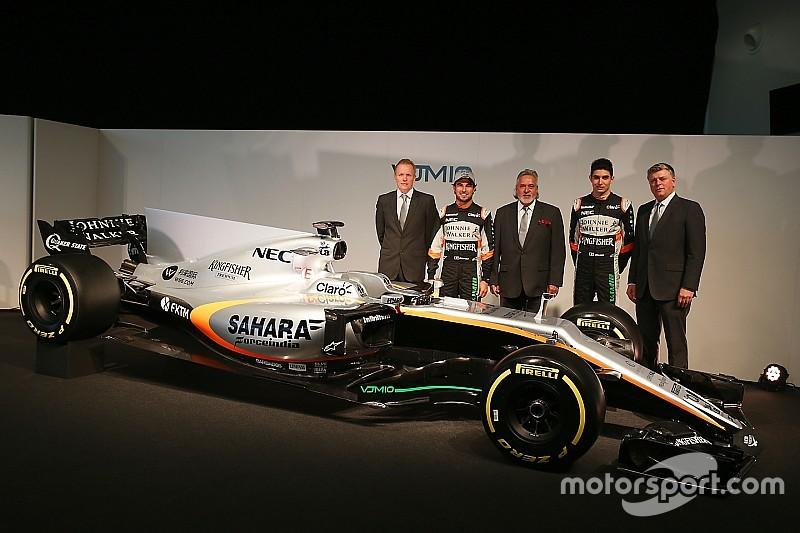 Force India presentó su F1 de 2017