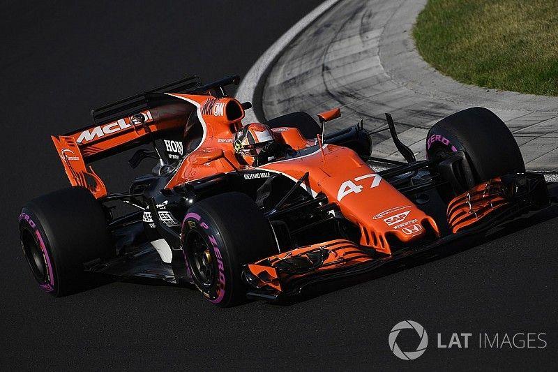 """McLaren, impresionado con el test de Norris, """"la estrella del futuro"""""""